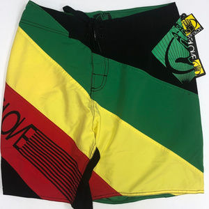NEW BODY GLOVE Boardshort/Surf Trunk-Zipper Pocket